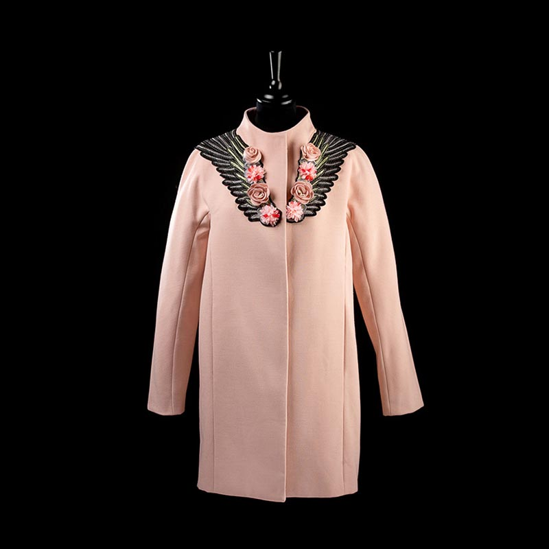 ByVal Manteau Rose 01