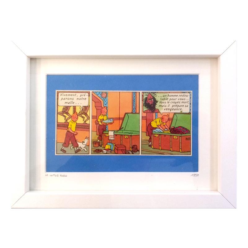 Oncle Olive – Tintin Le Lotus Rectangle B – Format Web