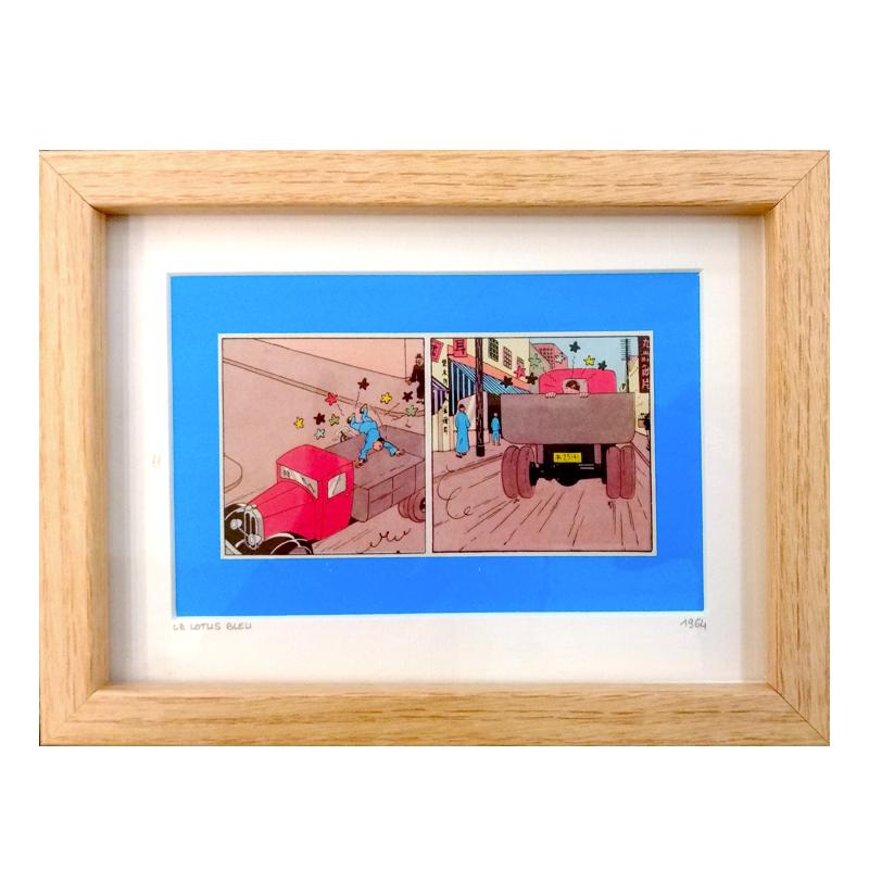 Oncle Olive – Tintin Le lotus Rectangle – Format Web